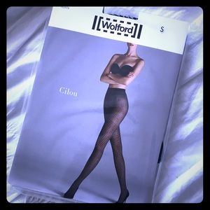 """Wolford """"Cilou"""" tights Sz S NWT"""
